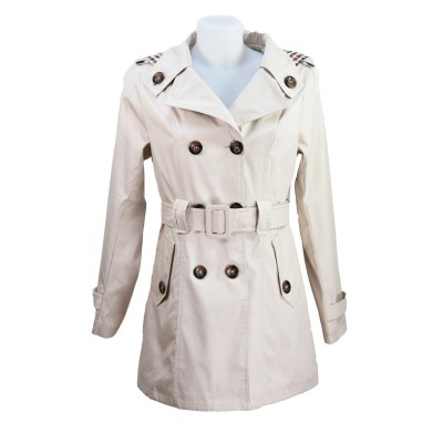 Trench imperméable, Beige, taille S - XXL