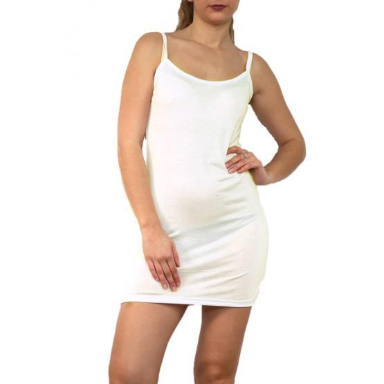 Fond de robe,petite robe d'été,crème