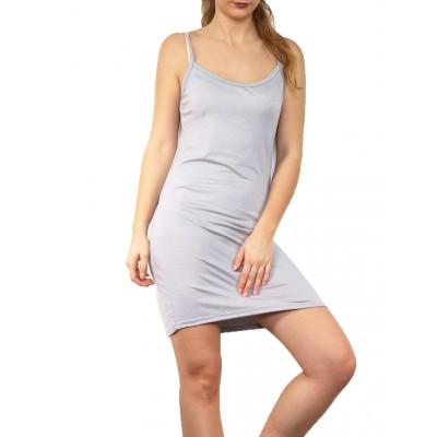 Fond de robe,petite robe d'été,gris