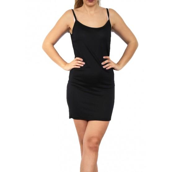 Fond de robe,petite robe d'été,noir