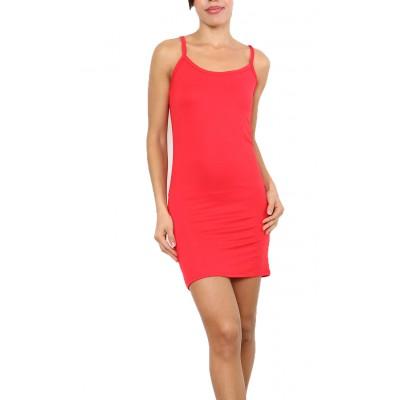 Fond de robe,chemise de nuit,rouge