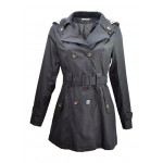 Trench imperméable, Noir, taille S - XXL