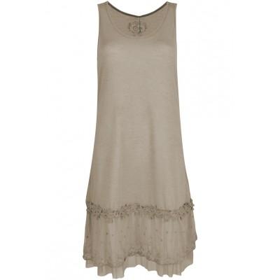 Fond de robe, couleur BEIGE
