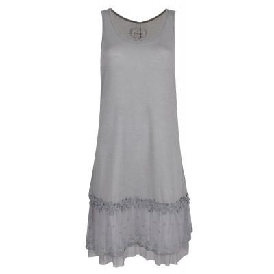Fond de robe, couleur GRIS