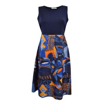petite robe imprimée