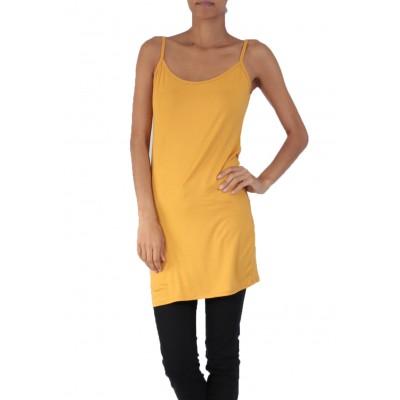 Fond de robe,chemise de nuit,moutarde