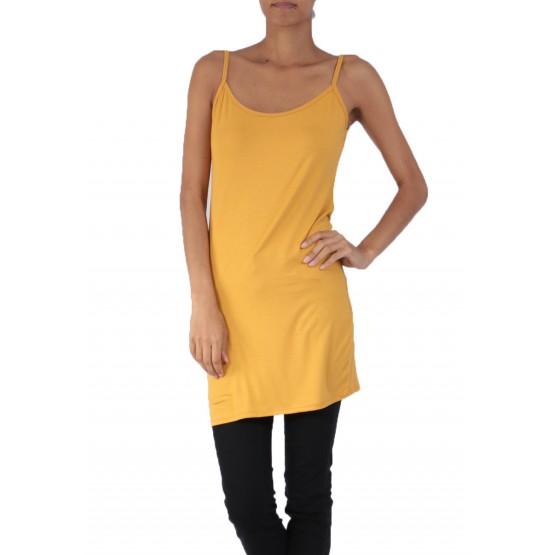 Fond de robe,petite robe d'été,moutarde
