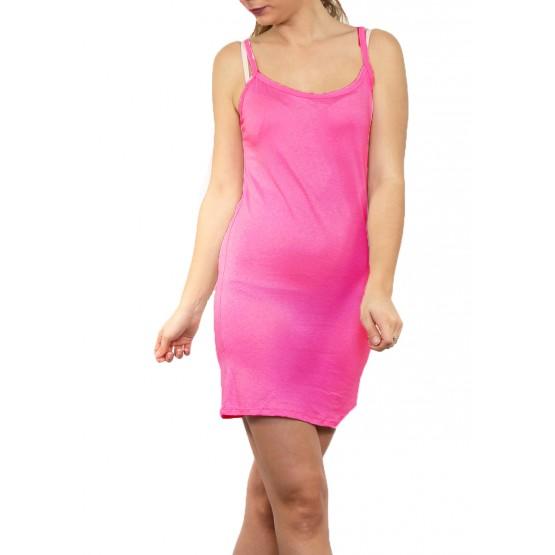 Fond de robe,petite robe d'été,Fushia