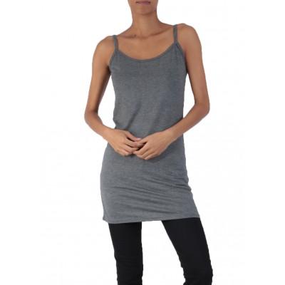 Fond de robe,chemise de nuit,Gris Foncé