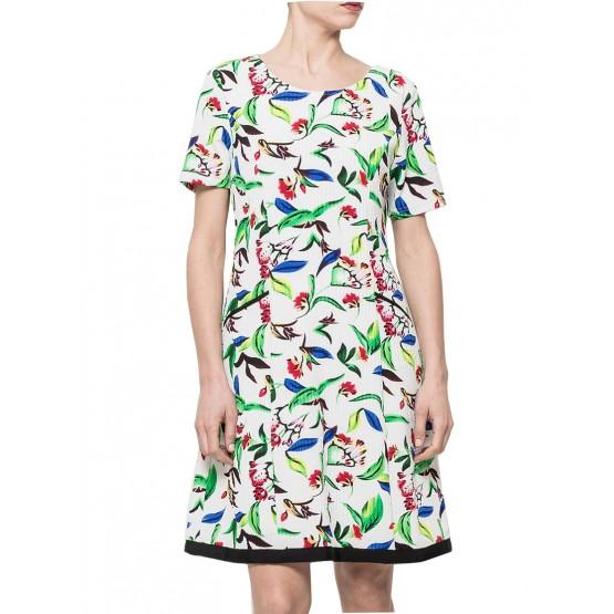 petite robe imprimée,vert