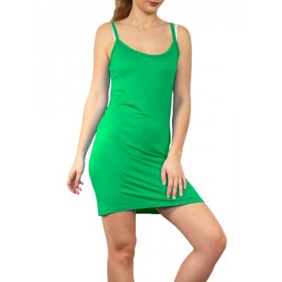 Fond de robe,chemise de nuit,Vert