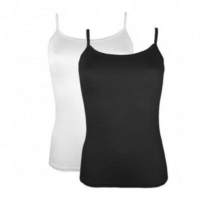 Lot de 2 top bretelle