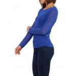 T-shirt, sous pull femme en voile transparente