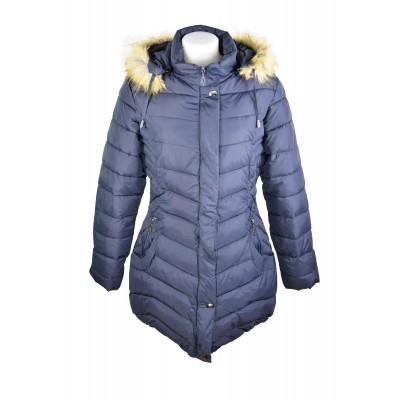 Doudoune, Manteau Femme, Bleu, grande taille