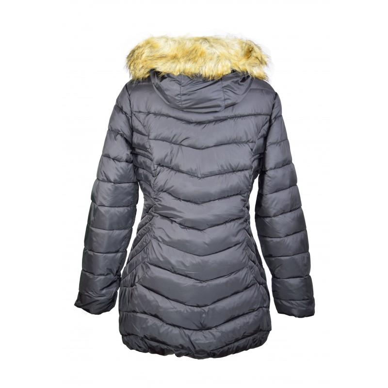 doudoune manteau femme noir grande taille miss rouge. Black Bedroom Furniture Sets. Home Design Ideas