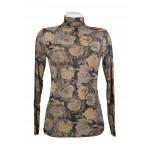 T-shirt, Sous pull, Top en mousseline, imprimée motif fleur
