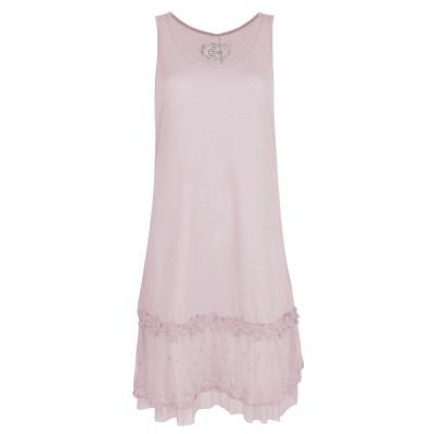 Fond de robe, couleur ROSE